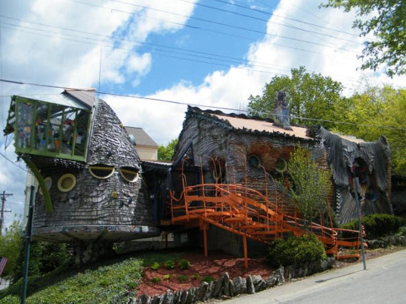 maison en champignon