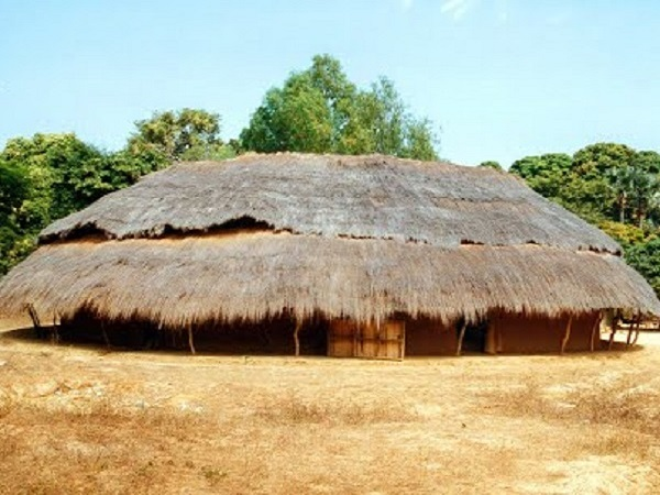 maison typique sénégal
