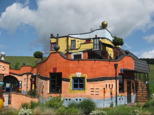 High Houses Painting Hunsertwasser