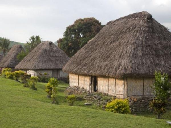 Maison typique de Fidji