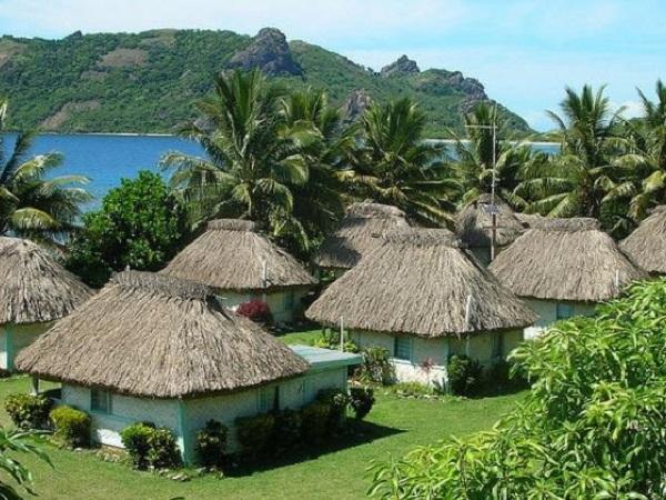 habitat traditionnel fidji