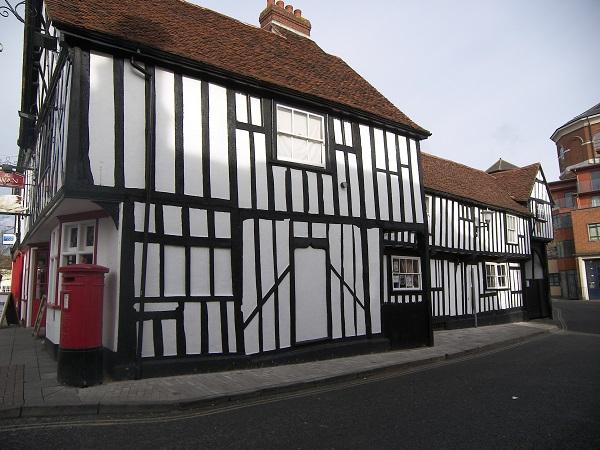 maisons à colombages anglaises