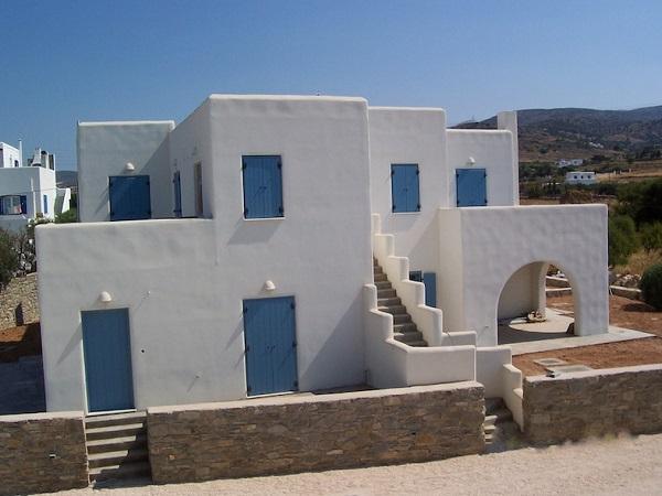 Maison traditionnelle grecque for Architecture traditionnelle