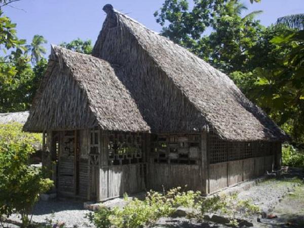 les maisons de kiribati