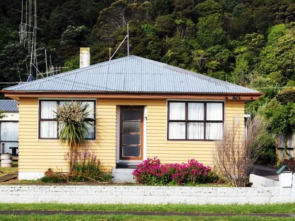 maison typique nouvelle zélande