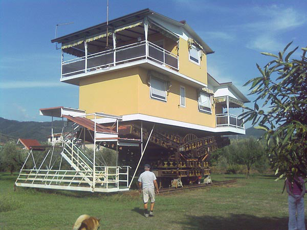 étonnante maison