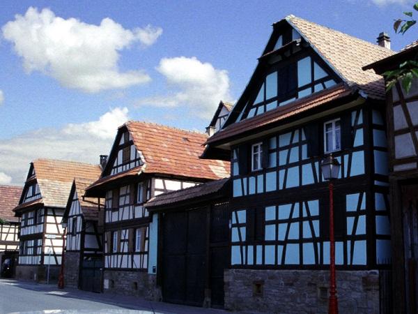 Maison traditionnelle alsacienne