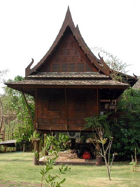Maison traditionnelle tha landaise - Cuisine thailandaise traditionnelle ...