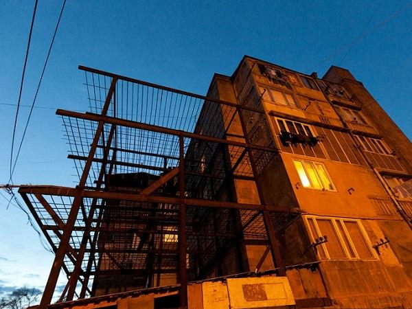 étrange architecture arménie