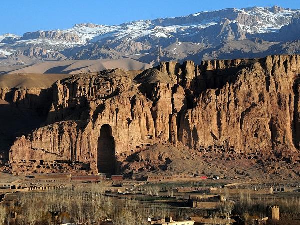 maisons grotte bamiyan