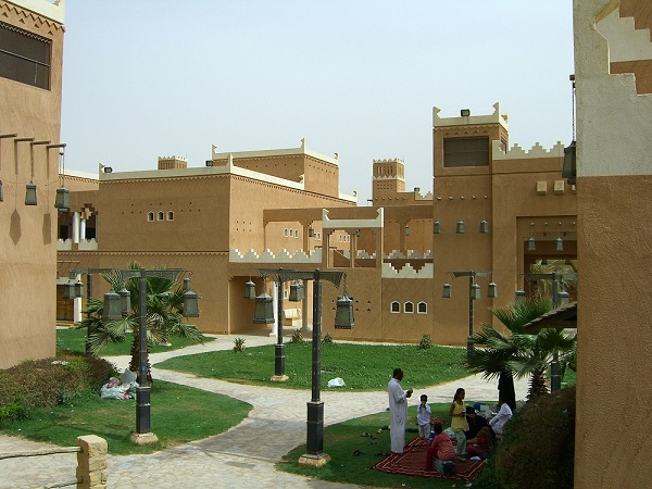 les maisons en arabie saoudite