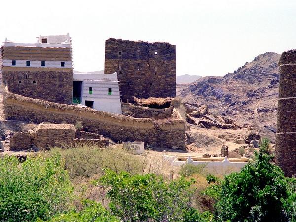 maison en brique arabie saoudite