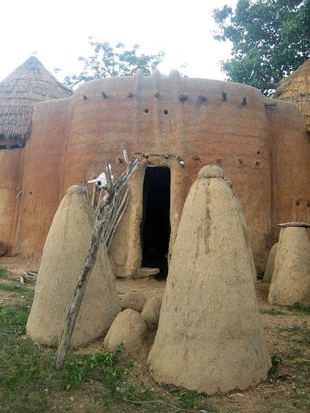 maison typique togo