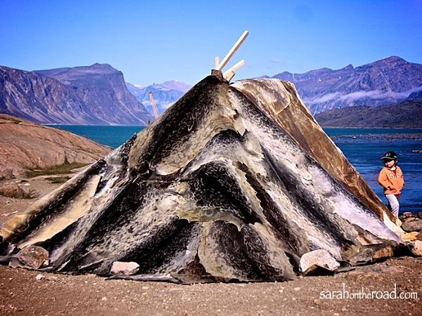 maison typique inuit
