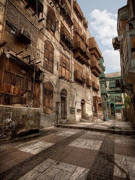 les vieilles maisons de jeddah