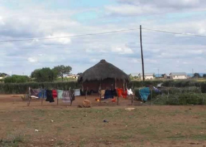 maisons traditionnelles botswana
