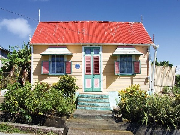 maison typique barbade