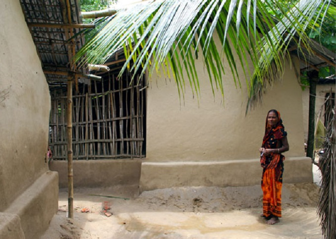 Les maisons en terre du bangladesh for Bangladesh village house design