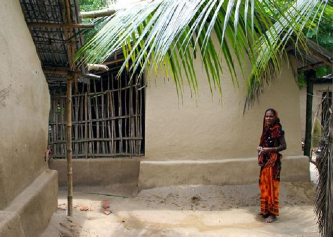 Les maisons en terre du bangladesh for Bangladesh house picture