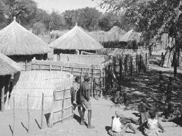 maisons typiques du botswana