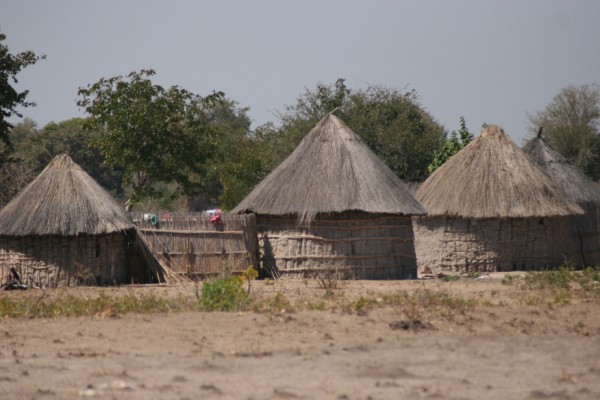 maisons au botswana