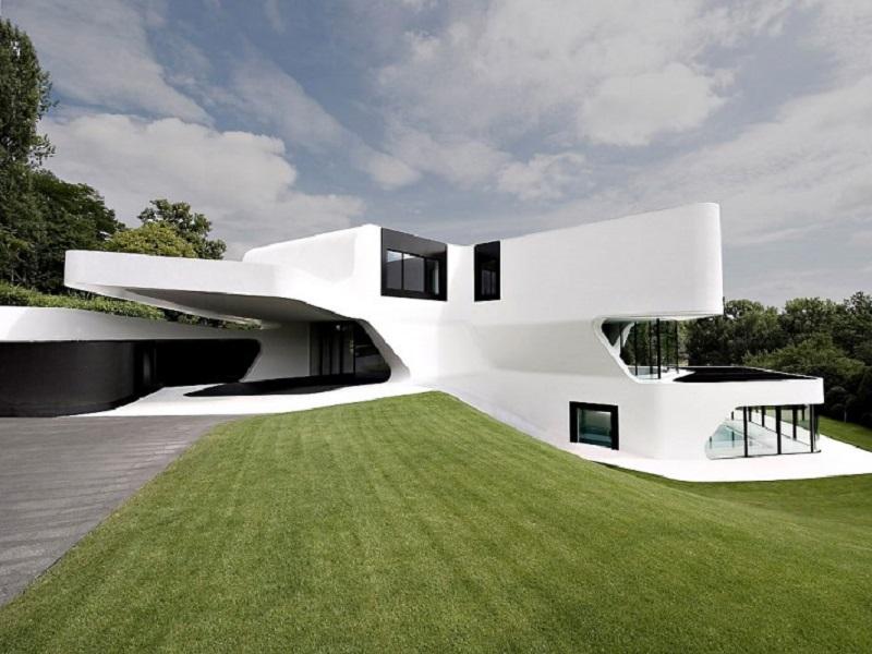 Dupli casa une maison tr s futuriste - Architecture moderne maison ...