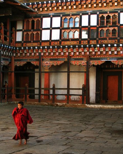 maisons typiques bhoutan