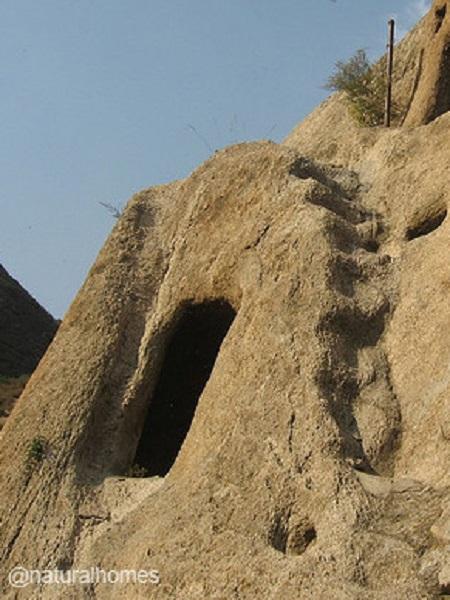 les maisons troglodytes de Guyaju
