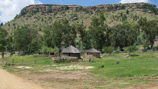 Les maisons traditionnelles au Lesotho