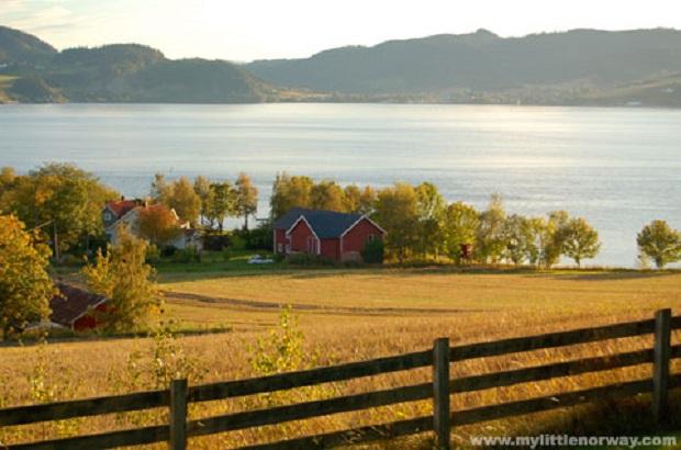 les maisons en norvège