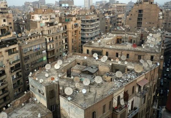 maisons en égypte