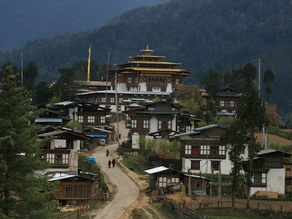 maisons typiques du bhoutan
