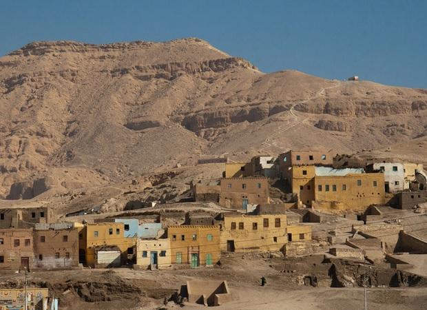 maisons égyptiennes