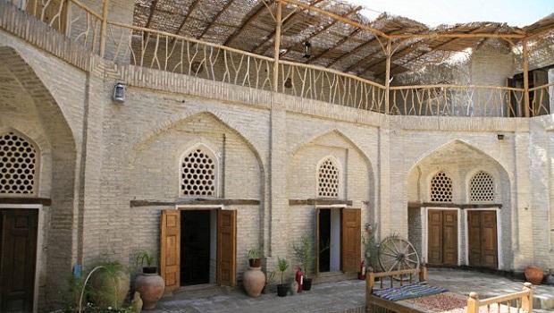 Les maisons en Ouzbékistan