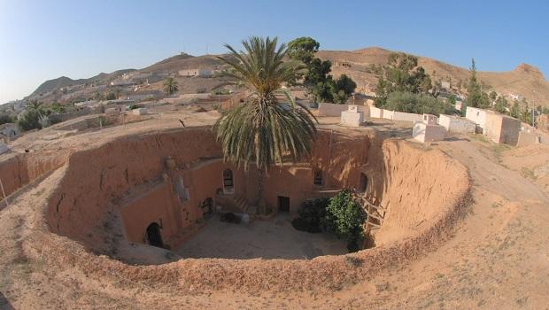 Les maisons troglodytes de Matmata