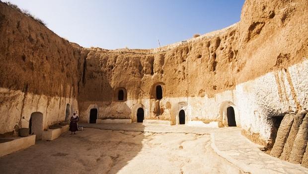 grottes de matmata