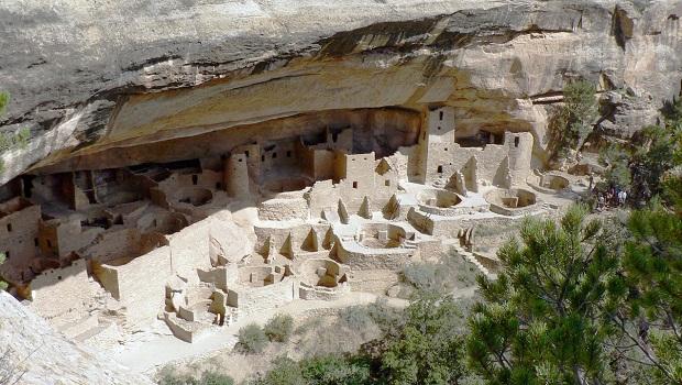 Les maisons troglodytes de Mesa Verde