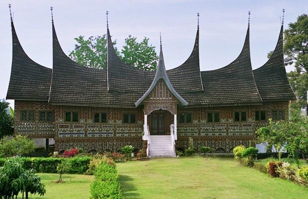 maison typiques indonésie