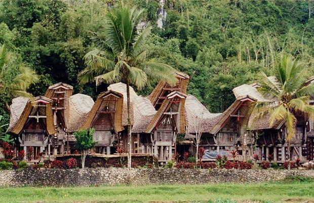 maisons indonésie