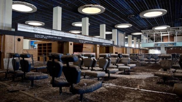 aéroport abandonné nicosie