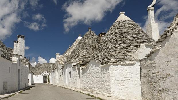 Les maisons trulli d'Alberobello
