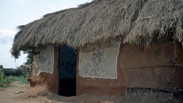 Les maisons à travers la Somalie