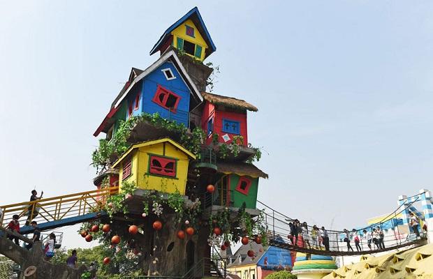 superbe maison arbre