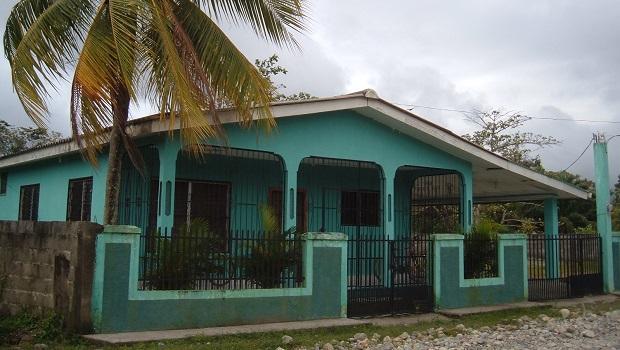 Maisons typiques de la classe moyenne au Honduras