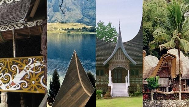 maisons traditionnelles des Indonésiens