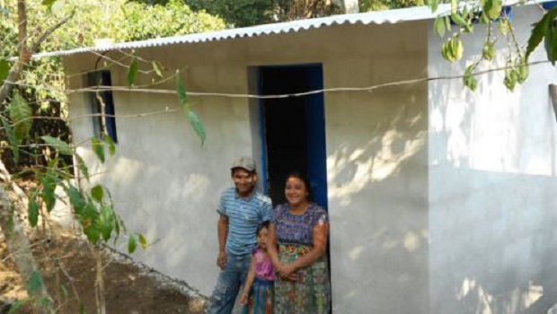 Les maisons au Guatemala