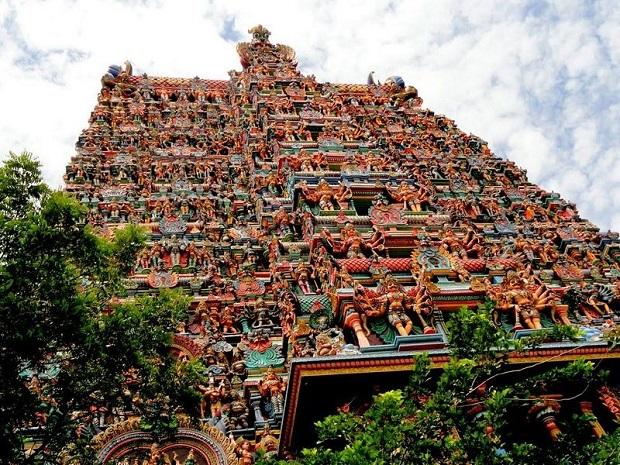 temple Mînâkshî