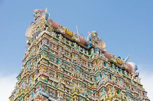 temple Mînâkshî inde