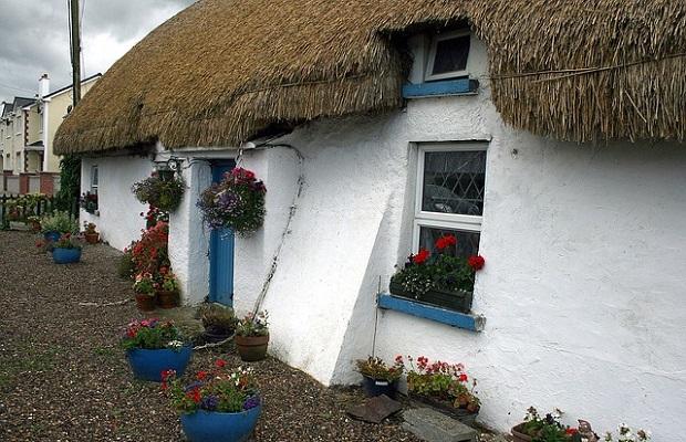 cottage traditionnel irlandais