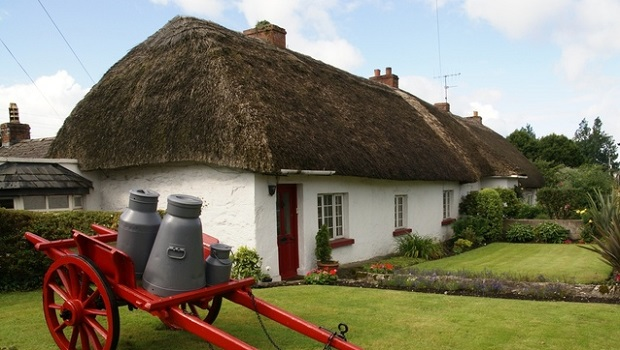 cottage traditionnel irlandais